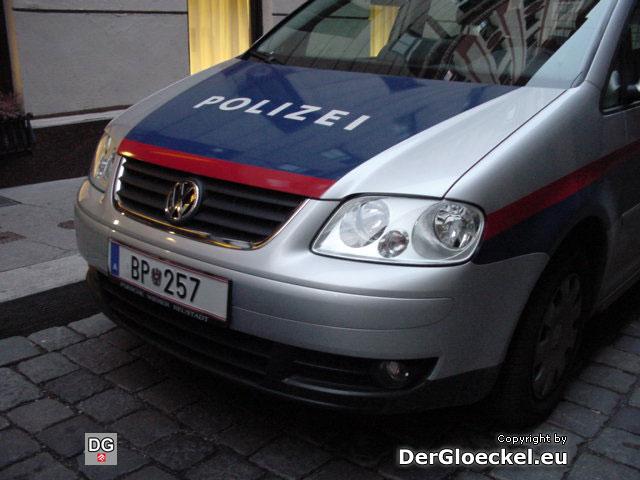 Dienstfahrzeug der BUNDESPOLIZEI WIEN BP-257