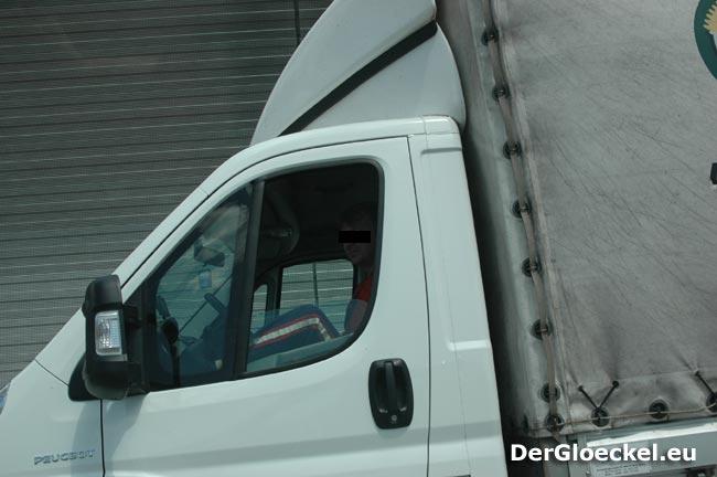 Unsitte bei vereinzelten LKW-Fahrern