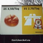 Etwas irreführende Werbung der ASFINAG