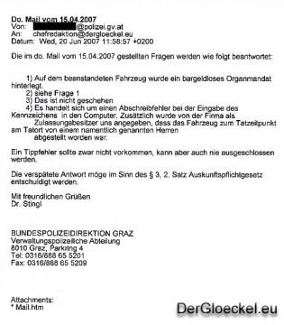 Stellungnahme Dr. Franz STINGL - BPD-Graz