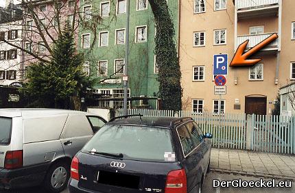 Parkraumbewirtschaftung durch das Rote Kreuz