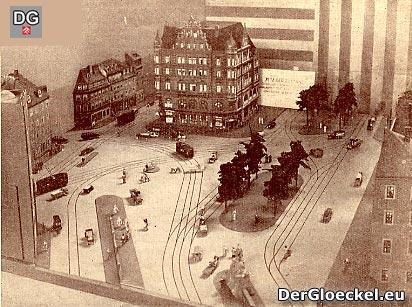 Verkehrsplanung Ende der 1920er Jahre