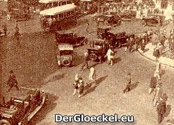 Pariser Straßenbild 1928