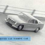 Rover Gas Turbinen Auto 1956