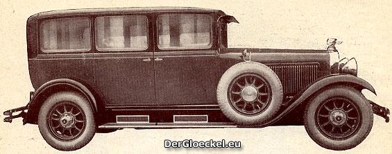Die neue Limousine - das Prachtstück der Horch-Werke