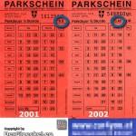 das waren noch Zeiten - Kurzparkgebühren in Wien 2001 und 2002 | Foto: DerGloeckel.eu