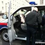 Verkehrsunfall unter Beteiligung eines Polizeiautos, vermutlich der WEGA | Foto: DerGloeckel.eu
